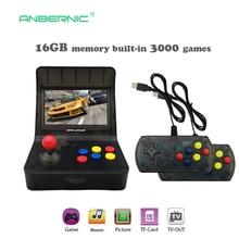 Portable Retro Mini Handheld Game Console 4.3 Inch 64bit 3000 Video Games classical Family  Game Console Gift RETRO ARCADE 08
