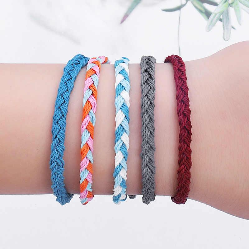 Artilady браслеты дружбы в виде ракушки браслет с подвесками кисточкой Boho веревка женские ювелирные изделия подарок Прямая доставка