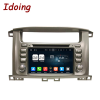 Idoing 2Din Steering Wheel Android6 0For Toyota Land Cruiser Car DVD Player 2G RAM 32G ROM