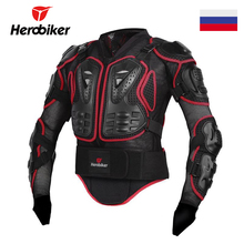 Herobiker Motorcycle Armor Racing Protective Gear Motorcycle Jacket Body Armor Protector Guard Moto Jacket Motocross Clothing(China)