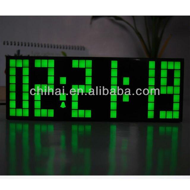 Free Shipping!!Digital snooze countdown timer wall art clock ...