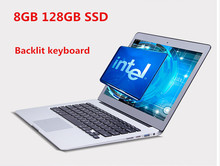 13.3″ core I3 5th Gen laptop computer, 8GB RAM &128GB SSD,  backlit keyboard & 1920*1080 HD screen aluminium ultrabook notebook