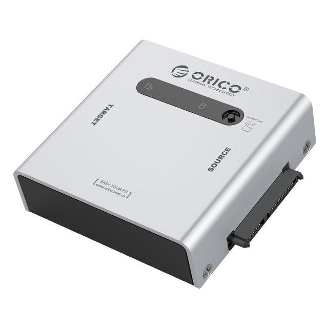 ORICO 2012US3-C dual máquina de copia de disco duro usb3.0 dos asiento del disco duro unidad de disco duro sata fácil de línea de transmisión