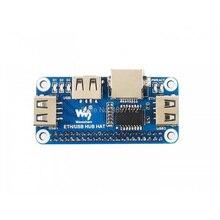 Raspberry pi zero W WH chapeau avec HUB Ethernet J45, USB