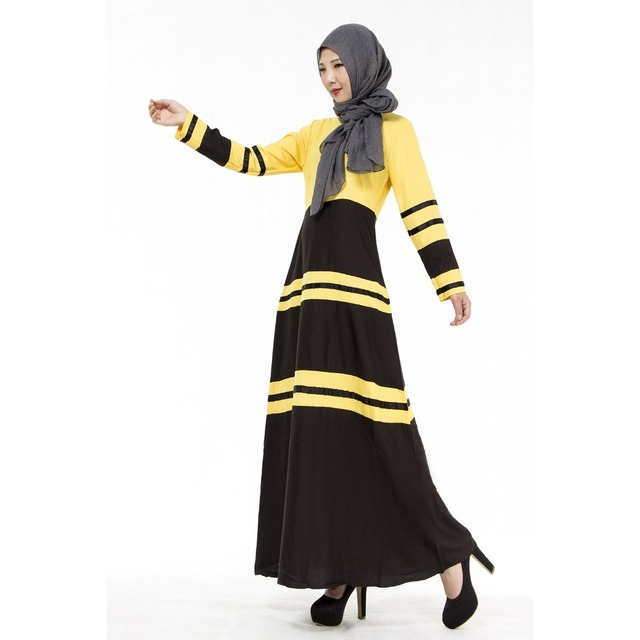 Абая Турецкий 2016 Новая Бесплатная Доставка Мусульманских Этнических Одежда Смешанный Цвет Юбка Костюмы Молитва Исламский Для Женщин Платье Абая 006 #