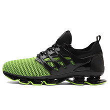 6ef42e226afe Plus Size Running Shoes For Men Springblade Sneakers Cushioning Outdoor  Sport Shoes Light Athletic Shoes Big Size Male Footwear