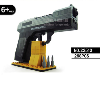 Large Block Gun - MP-45 Handgun