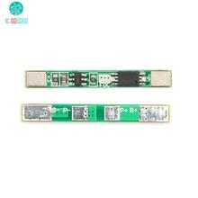 5 pcs 1 S 3.7 V 18650 Lithium Batterij Bescherming Boord 2A Overbelasting over ontlading Kortsluiting Beschermen BMS PCM Li Ion Module