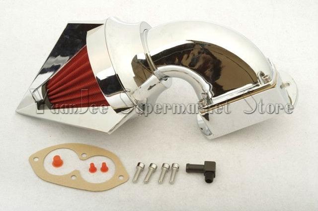 Motos Kits filtro de entrada de ar para Kawasaki 2002 - 2009 Vulcan 1500 1600 média Streak CHR