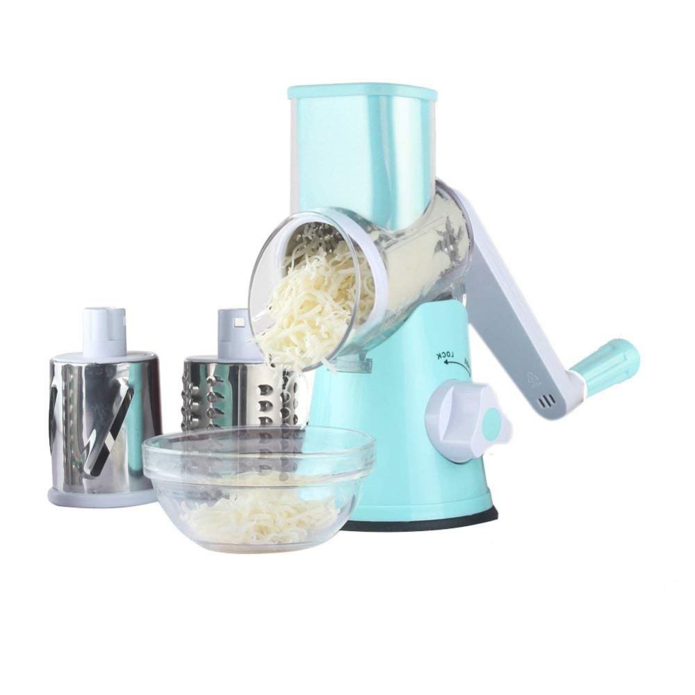 Multifunctional Rotary Cheese Grater Butter Shredder Tool for Walnuts, Vegetable, Potato New Kitchen Tools In 2018 image