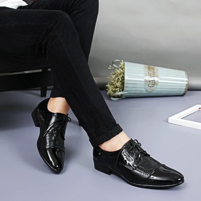 2018 New Fashion Italian Designer Formal Mens Dress Shoes