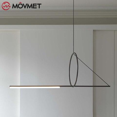 moderna lampada do teto de metal led luzes pingente para casa restaurante sala jantar cozinha