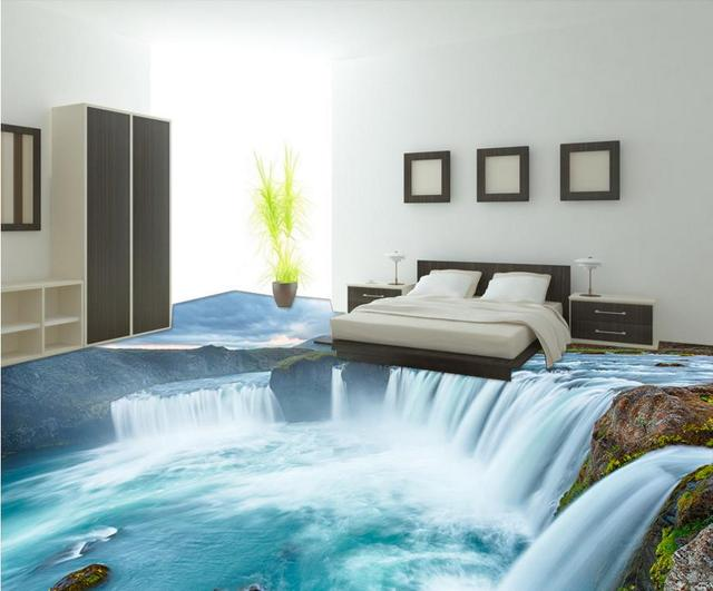 3d Floor Tiles Stone Custom Wallpapers For Living Room 3d