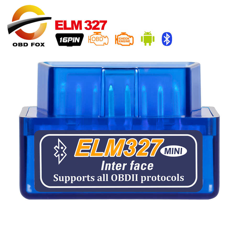 V2.1 Super Mini ELM327 Bluetooth Car Diagnostic cable ELM 327 mini brake fluid tester obd2 code readers scan tools