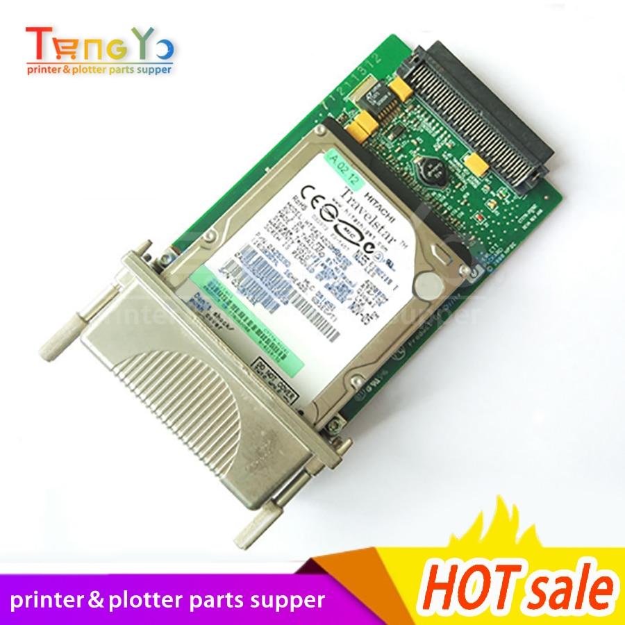Bilgisayar ve Ofis'ten Yazıcı Parçaları'de Orijinal Designjet 800 800 ps plotter GL/2 biçimlendirici PC kartı HDD Firmware C7779 60272 C7779 69272 C7769 60143 C7769 60300 title=