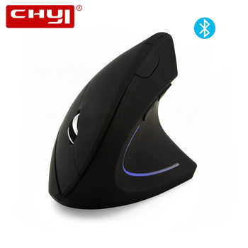CHYI Ergonomic Vertical Bluetooth Mouse Wireless Optical Mause 800/1200/1600DPI Adjustable 6D Gaming Mice With LED For Laptop PC - DISCOUNT ITEM  30 OFF Computer & Office