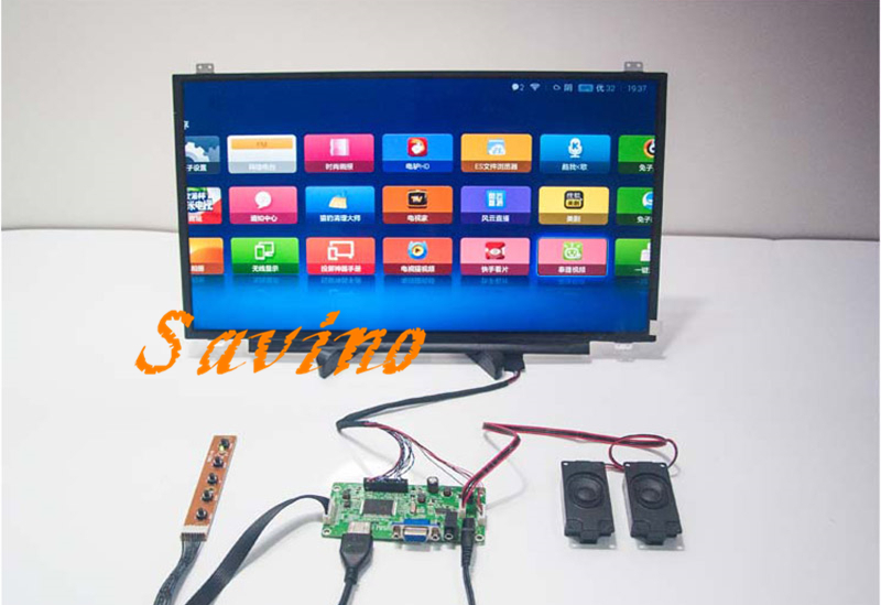 17.3 polegada 1920*1080 IPS Tela HDMI Placa Motorista LCD Monitor Módulo Do Painel Laptop PC Raspberry Pi 3 carro