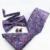 Mantieqingway Moda Laços + Bowtie + Lenço + Abotoaduras Definido para Casamento Gravata Listrada Gravatas Gravatás Paisley Lenços Florais