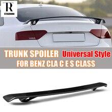 Carbon Fiber Phổ Phong Cách Rear Trunk Wing Spoiler đối với Benz CLA C E S CLASS