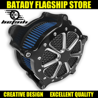 Black Motorcycle Intake AirCleaner System For Harley Sportster Softtail GlideTouring Dyna air filter Iron00 18 Filtre a air moto