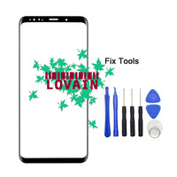 LOVAIN 1PCS Genuine Original For Samsung Galaxy S9 G960 S9 Plus G965 Front Glass Lens 5