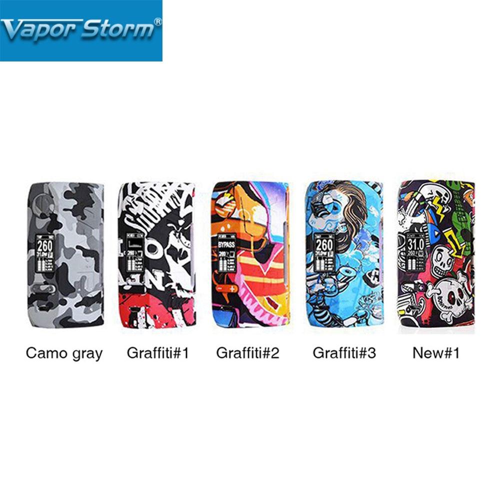 200W Vapor Storm Storm230 TC Box MOD with 0 96 inch OLED Display Unique Graffiti Body