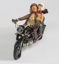 head Arts Crafts deer  EXCITING MOTOR RIDE motorcycle French designer FORCHINO sculpture collection