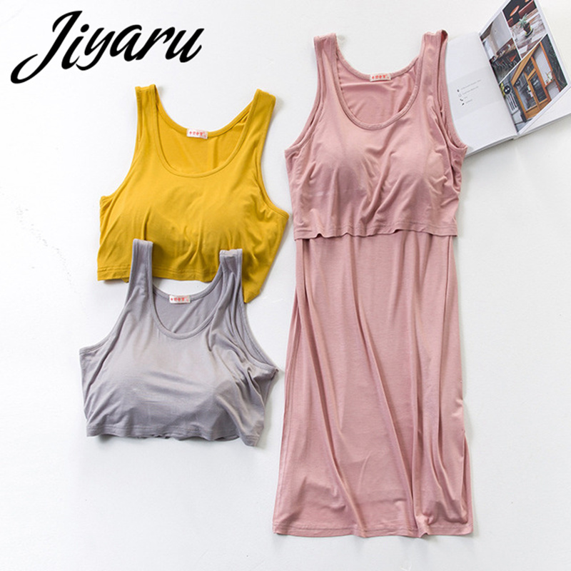 Summer Maternity Pajamas Women Maternity Nightgown Breastfeeding Nightgowns Nursing Pregnant Nightdress Maternity Sleepwear ...