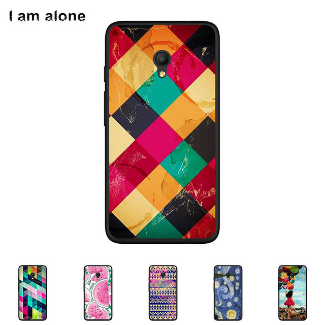 timeless design a4b4c 69f96 US $1.43 20% OFF|For Alcatel Pixi 4 (5) 4G 5045D 5.0 inch Cellphone Case  Soft TPU Silicone Mobile Phone Cover Color Paint Bag Free Shipping-in ...