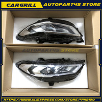 For Ford Fusion 2 Front Bumper LED Bi xenon Head Lamps 017 up HID Headlights