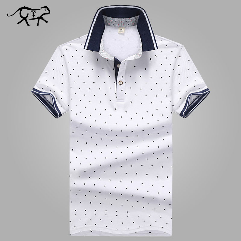 b4fa45438fb6d Detail Feedback Questions about New Brand POLO Shirt Men Cotton Fashion  Polka Dot Printed Male Camisa Polo Summer Short sleeve Casual Lapel Polo  Shirts Slim ...