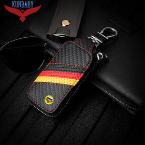 799c097b317 KUNBABY Leather Key Wallet For BMW BENZ VW so on Case Top Holder