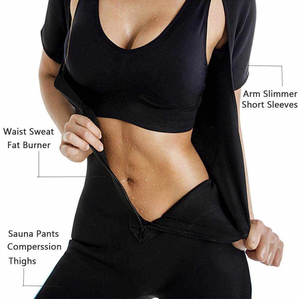 98da6f17bf6 ... Lover-Beauty Sauna Workouts Fajas Shapewear Full Body Shape Sweat Hot  Slimming Neoprene Suit Waist ...