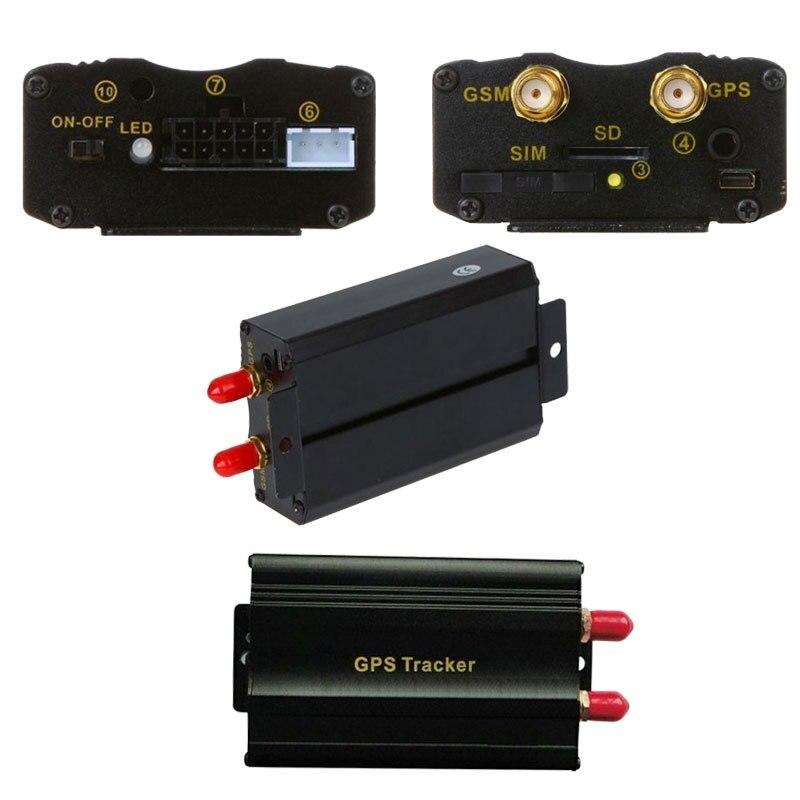В режиме реального времени автомобиля автомобиль GSM GPRS GPS SMS трекер датчик вибрации и рог TK103A слежения за автотранспортными средствами автомобиль устройство системы