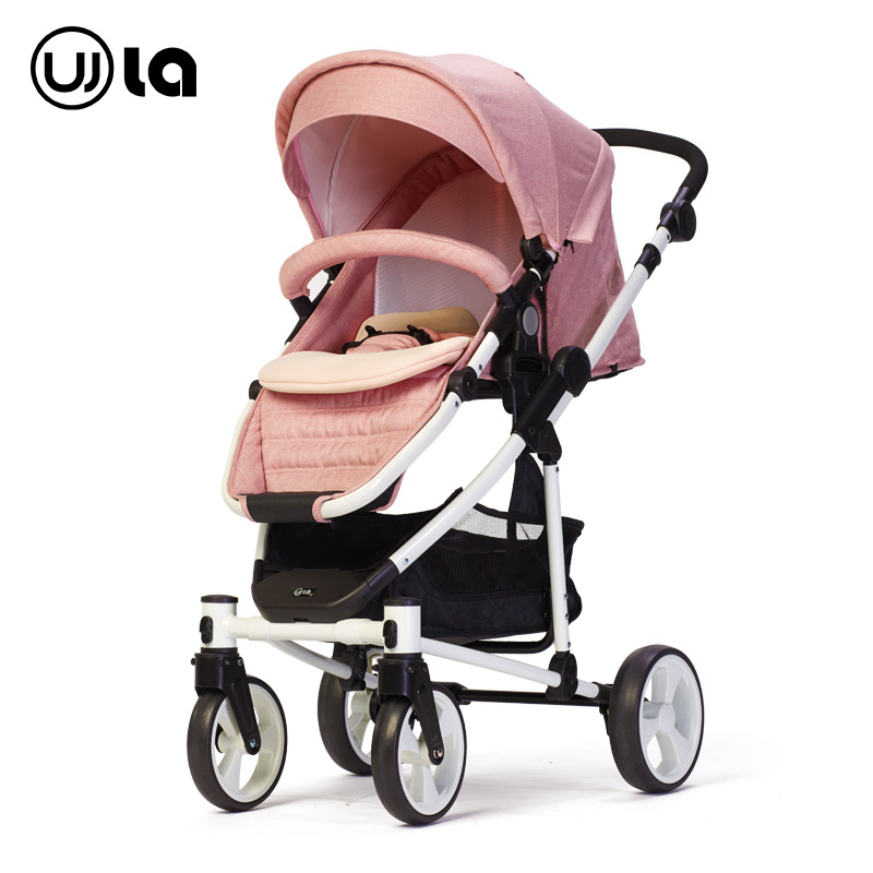 Wla Baby Stroller Is Light And High Landscape, Four Wheels Can Sit stroller for dolls luxury baby stroller high landscape baby carriage for newborn infant sit and lie four wheels