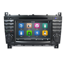 Capacitive Screen! Two Din 7 Inch Car DVD Player Video For A-Class/Mercedes/Benz/W169/W203/W209/B200/CLK200/Viano FM GPS BT Map