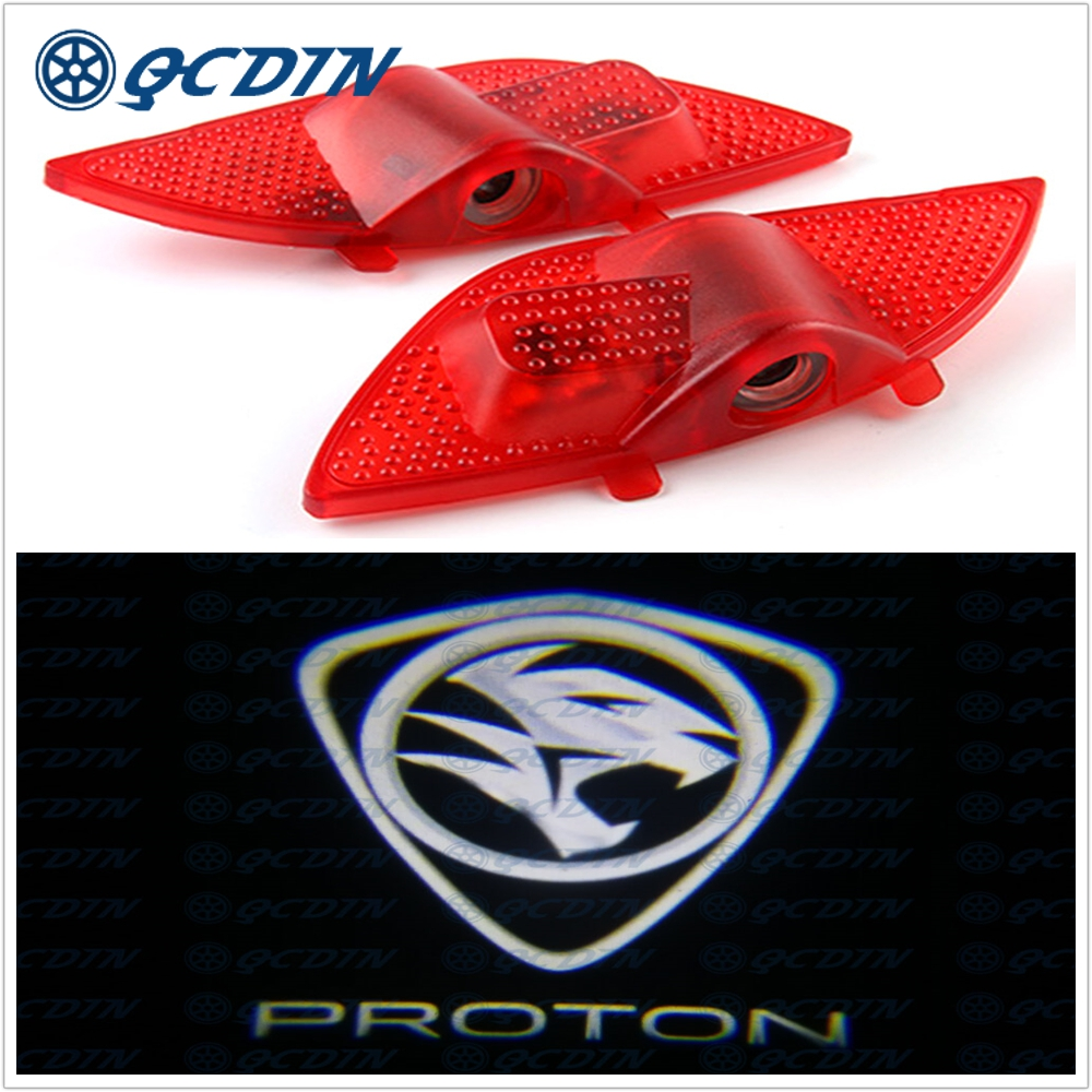 QCDIN for PROTON X70 Car LED Door Welcome Light Logo Shadow Projector Light for PROTON X70QCDIN for PROTON X70 Car LED Door Welcome Light Logo Shadow Projector Light for PROTON X70