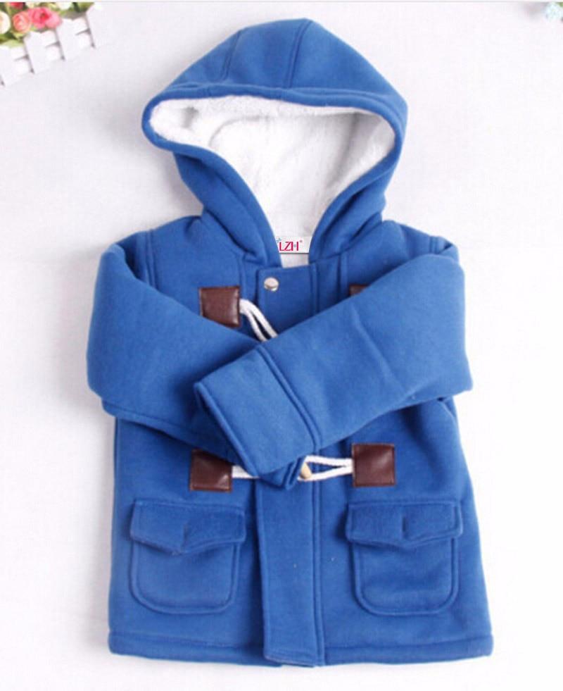 a2e977fd31b6 LZH Baby Boys Jacket 2018 Autumn Winter Jacket For Boys Coats Kids Warm  Hooded Outerwear Coat