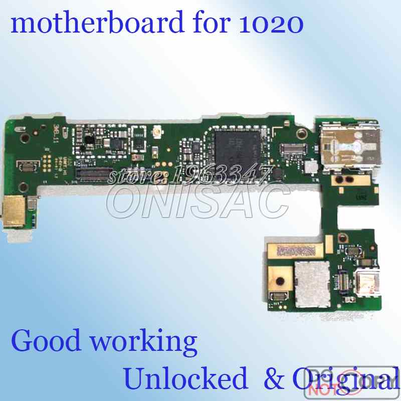 High quality  wcdma version  For Nokia Lumia 1020 Motherboard test one by one  Original & Unlocked mainboard with chips(China)