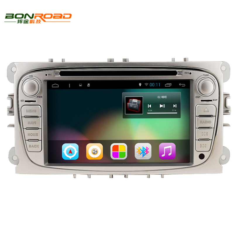 Ford 7 Double 2 Din Android 6 0 Car Stereo Dvd Radio Gps Navigation Bluetooth
