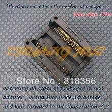 100% NEW OTS-44-1.27-03 Enplas Socket SOP44 PSOP44 SOIC44 IC Adapter 13.3mm Width 1.27mm Pitch