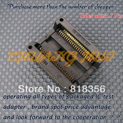 NEW OTS-44-1.27-03 socket SOP44 PSOP44 SOIC44 IC Socket Adapter 13.3mm Width 1.27mm Pitch