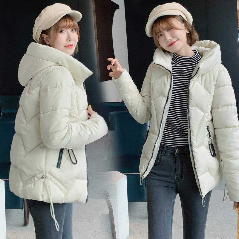2019 Winter Down Cotton Parka Women's Jackets Large Sizes Winter Warm 6XL Thick Parka Loose Coat Winter Women Jacket Outerwear