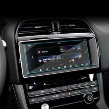 Lsrtw2017 di Navigazione Per auto schermo Temperato pellicola protettiva per jaguar f-XF F-tipo di ritmo XE