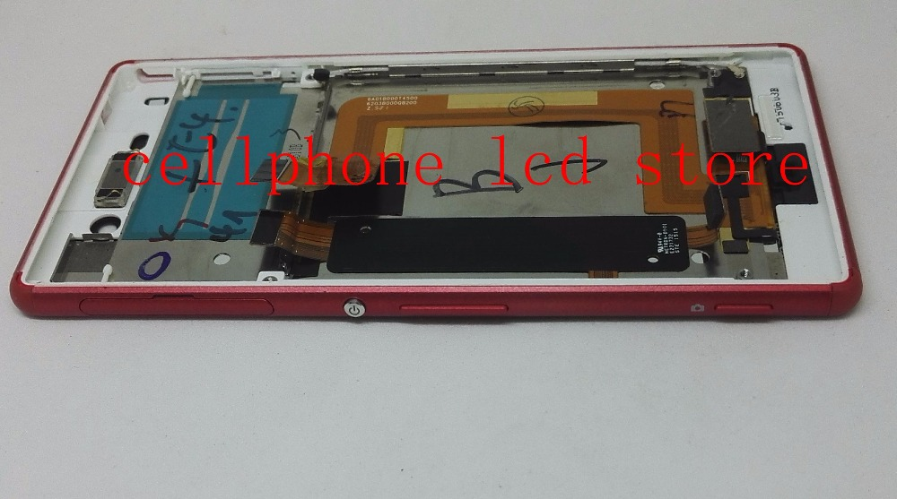 Подробнее о Lcd Screen display+Touch Glass digitizer+Frame assembly For Sony Xperia M4 Aqua E2333 E2303 Dual sim version replacement Red black white original lcd display digitizer touch screen glass for sony xperia m4 aqua e2303 e2333 e2353 replacement free ship