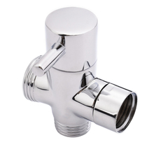все цены на Mayitr Brass 3 Ways T-adapter Shower Head Diverter Valve Bathroom Toilet Sprayer Faucet For Bathroom Accessories онлайн