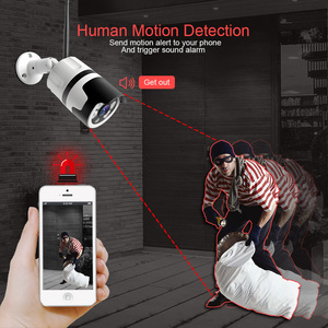Image 4 - HD 1080P 5MP Bullet WiFi IP Camera ONVIF Wireless Outdoor Night Vision 20m CCTV Security Camera Two Way Audio Alarm P2P CamHi