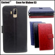 Casteel Classic Flight Series high quality PU skin leather case For Bluboo S3 Case Cover Shield(China)