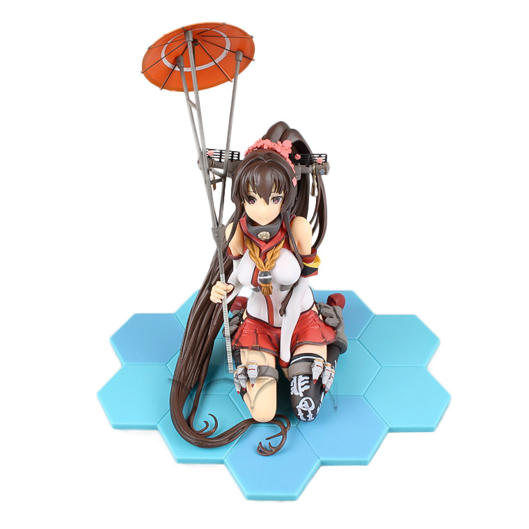 Kantai Collection Yamato Sexy Game Girl PVC Action Figure Collection Model kids toys saintgi street fighter v ken bigboystoys with light action figure game toys pvc 16cm model kids toys collection