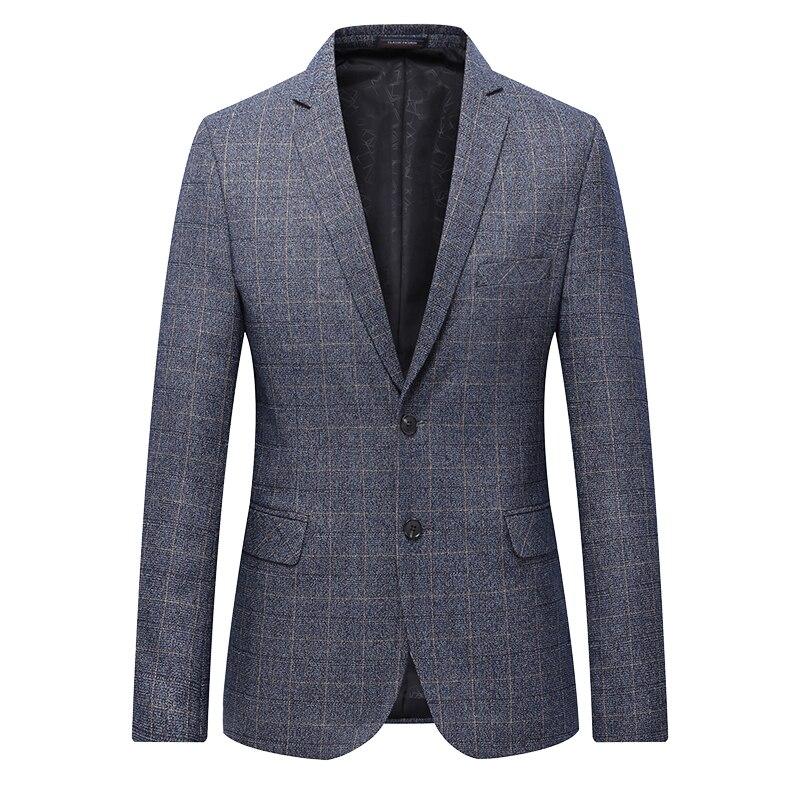Erkek Kıyafeti'ten Blazerler'de En Kaliteli Erkek Casual Blazer Artı Boyutu 2019 Bahar Sıcak Satış Iş Blazer Mont Erkek resmi giysi Takım Elbise Ceketleri 7XL 6XL 5XL 4XL'da  Grup 1
